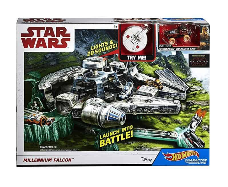 HURRY!!! Hot Wheels Star Wars Millennium Falcon Playset with Movie Ticket $15 (was $40)
