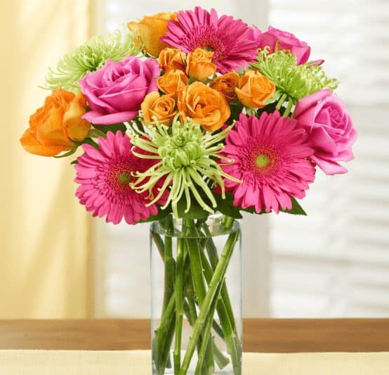 Florist.com: Bouquet + Vase Starting at $24.99 Shipped