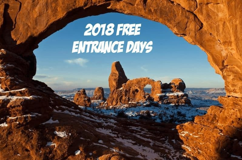 2018 Free Entrance Days in the National Parks