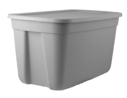 18 Gallon Plastic Flat Lid Tote $3.98 w/ Free Pick Up at Lowe's **Still Available**
