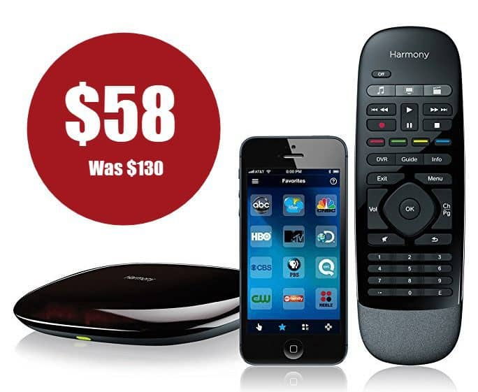Logitech Harmony Smart Control ONLY $58 (Was $130)