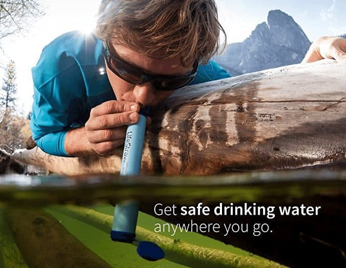 LifeStraw Personal Water Filter Only $13.90