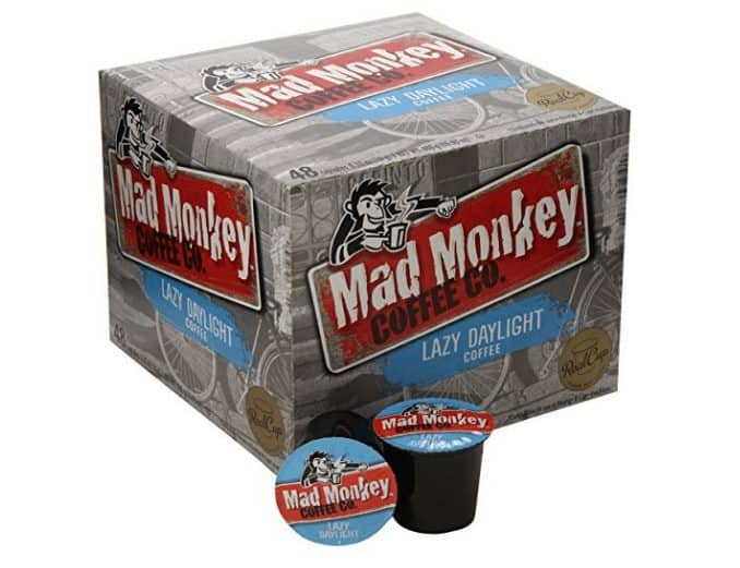 48 Mad Monkey Coffee K-Cups Only $14.62 - 30¢ Per K-Cup