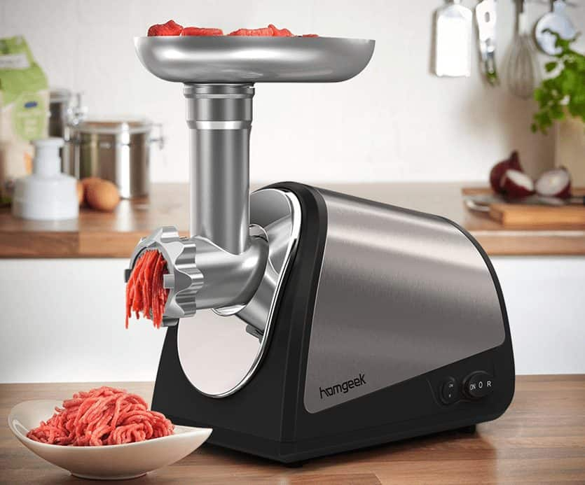 Homgeek 1200W Electric Meat Grinder ONLY $53 Shipped