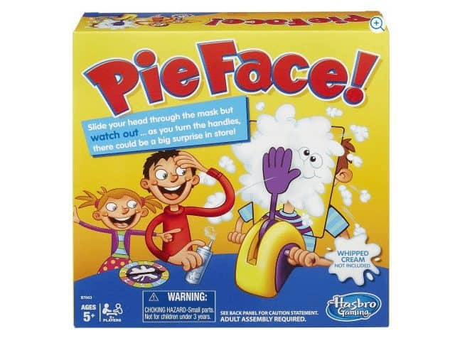 Hasbro Pie Face Game Only $5.88