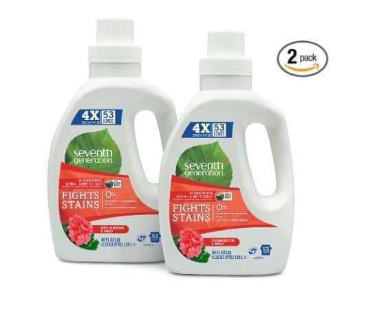 2-PK Seventh Generation Natural Detergent Blossoms 106 Loads ONLY $5.19 IF You Have Alexa