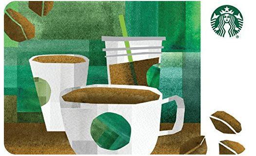 FREE $5 Amazon Credit WYB $50 in Starbucks eGift Cards