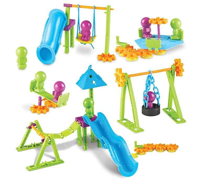 Learning Resources Playground Engineering & Design STEM Set, 104 Pieces ONLY $13.99