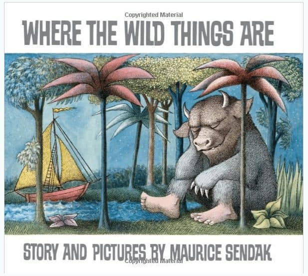 Where The Wild Things Are Hardcover Book $6.50 (Was $19)
