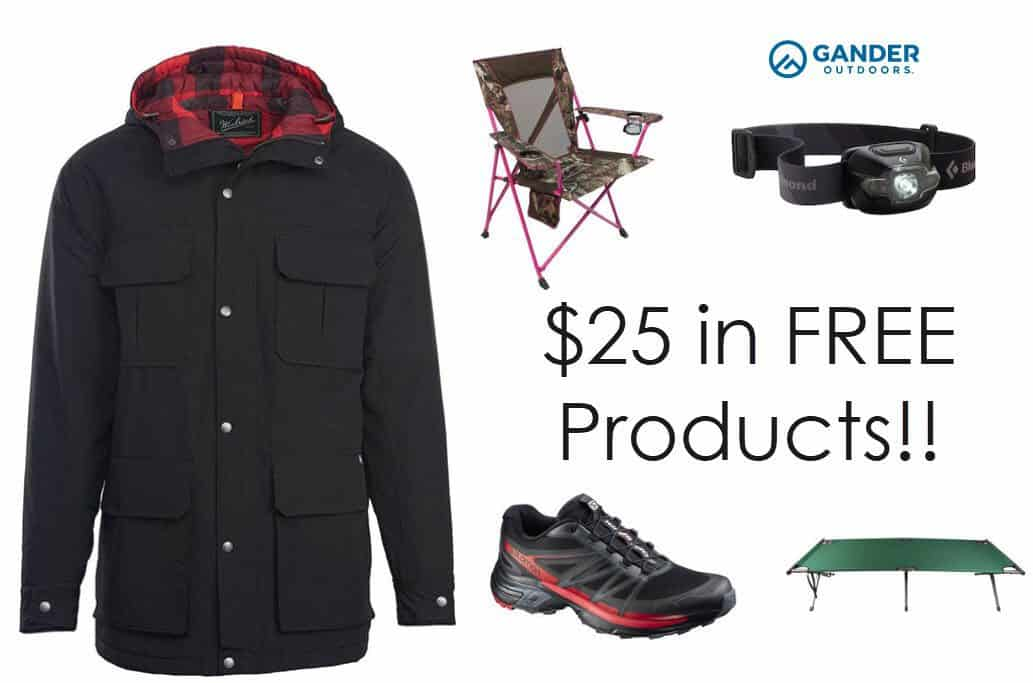 $25 off ANY Gander Purchase + Free In Store Pick Up + $25 in FREE Stuff **SUPER HOT**