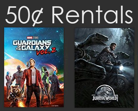 Amazon Instant Video Rental: Select Movies Only $0.50 Each