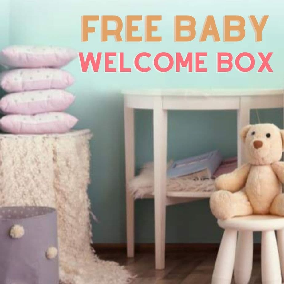 Free Baby Welcome Box from Amazon