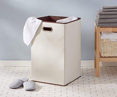 AmazonBasics Foldable Laundry Hamper $9.08 (Was $18)