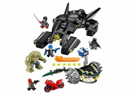LEGO Super Heroes Batman: Killer Croc Sewer Smash Building Kit $35 (Was $80)