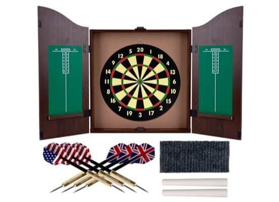 Trademark Gameroom Dartboard Set $33.09 (Was $60)