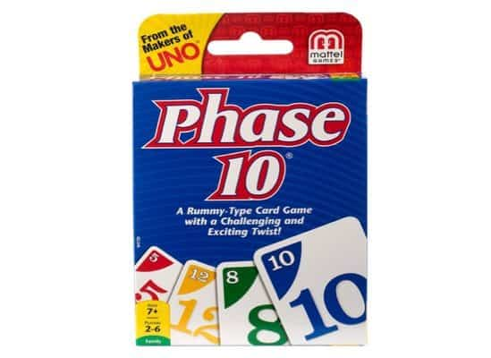 Phase 10 Card Game Only $4.97 **Highly Rated**