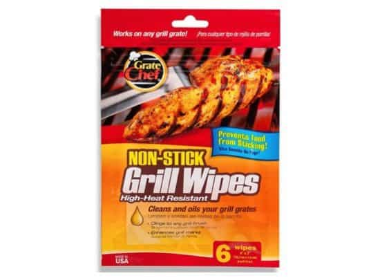 Grate Chef Non-Stick Disposable Grill Wipes Only $2.97