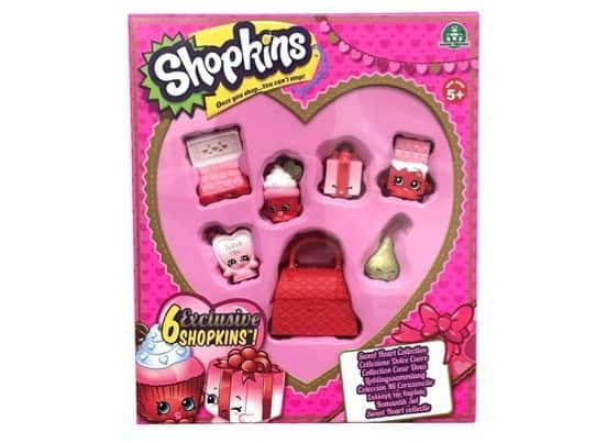 Shopkins Sweetheart Collection Only $6.45