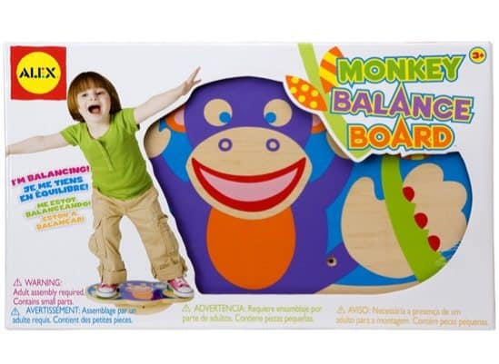 ALEX Toys Active Play Monkey Balance Board Only $14.77