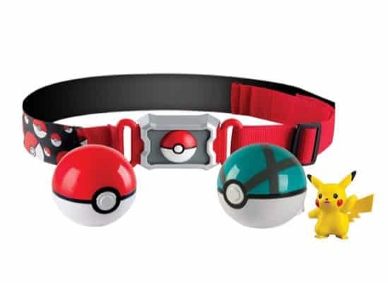 Pokemon Clip and Carry Poke Ball Belt Only $4.17
