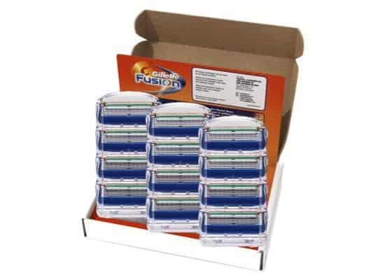 Gillette Fusion Razor Blade Refills 12 Count Only $24.97 (Was $48)