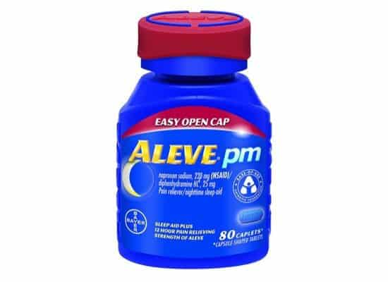 Aleve PM with Easy Open Arthritis Cap 80 Count $8.31 **Today Only**