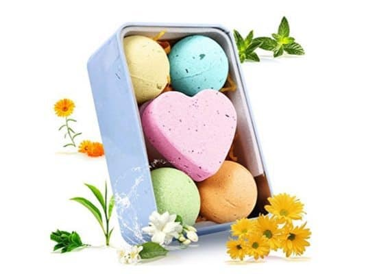 Highly Rated Bath Bomb Gift Set Only $6.99