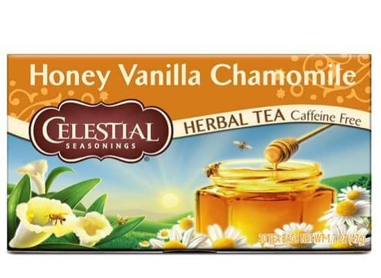 6-Pack Celestial Seasonings Honey Vanilla Chamomile Herbal Tea 20 Count Only