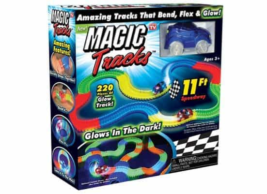 Magic Tracks The Amazing Racetrack That Can Bend, Flex and Glow Only $12.99