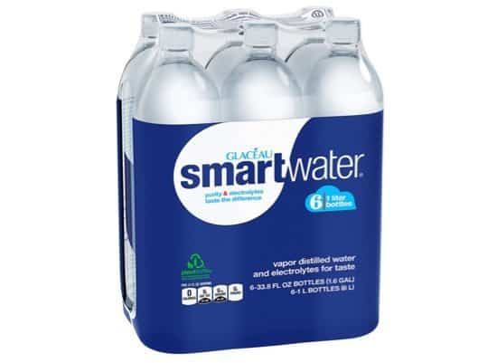 Glaceau Smartwater 33.8oz Bottles 6-Pack Only $5.98 Shipped