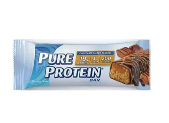 Pure Protein Chocolate Salted Caramel Bars 6-Count Only $4.09