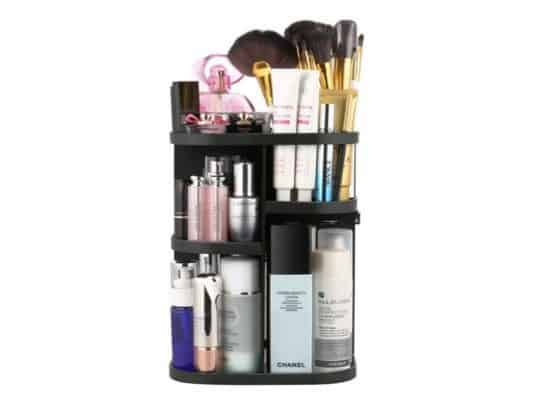 Jerrybox 360-Degree Rotating Makeup Organizer Only $11.39