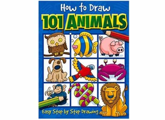 How to Draw 101 Animals ONLY $3.21