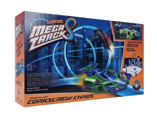 Lionel Mega Tracks - Corkscrew Chaos Green Engine ONLY $14.48 (Was $100)