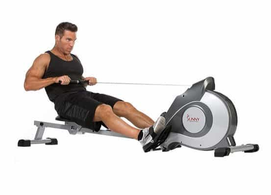 Sunny Health & Fitness Magnetic Rowing Machine Rower w/ LCD Monitor $169.99 (Was $400) **Today Only**