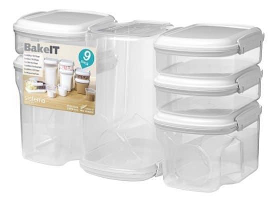 Sistema Bake It Food Storage Set of 9 Only $19.94 (Was $40)