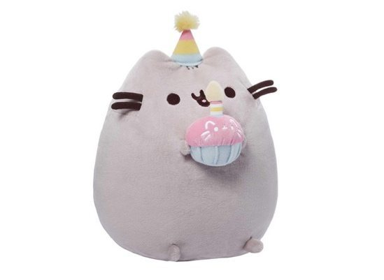 GUND Pusheen Happy Birthday Plush Only $12.49