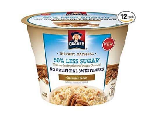 Quaker Instant Oatmeal Express Cups 12 Pack $7.66 Shipped **Only 64¢ Each**