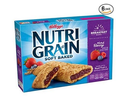 6-Pack Kelloggs Nutri-Grain Cereal Bars 8-Count Only $11.40