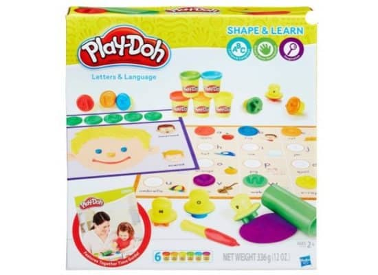 Play-Doh Shape and Learn Letters and Language Only $7.44 (Was $20)