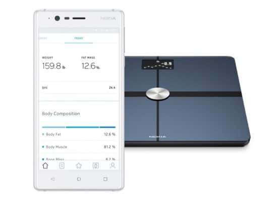 Nokia Body+ - Body Composition Wi-Fi Scale $59.97 **Today Only**