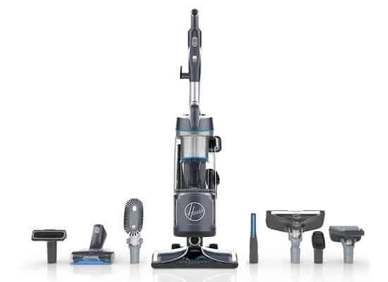Hoover REACT Powered Reach Premier Bagless Upright Vacuum $99.99 (Was $350)