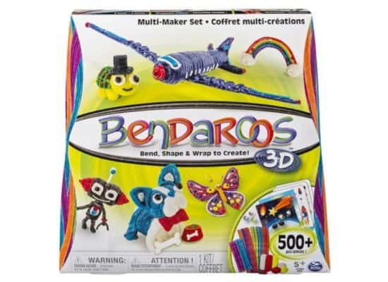 Bendaroos 3D 500 Piece Multi Maker Set Only $6.44 (Was $26.98)