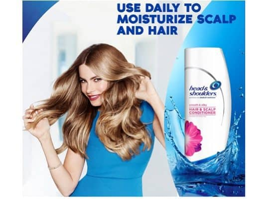 Head and Shoulders Smooth and Silky Conditioner Only $2 (Was $9)