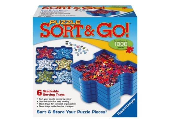 Puzzle Sort and Go Jigsaw Puzzle Accessory Only $10.47
