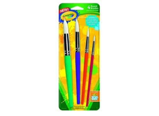 Crayola Big Paint Brushes 4 Count Only $2.72