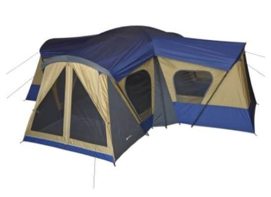 Ozark Trail 14-Person 4-Room Tent $139.97 (Was $249)