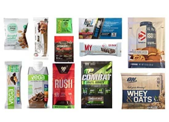 Mr. Olympia Sports Nutrition Sample Box $9.99 + $9.99 Amazon Credit - Like FREE!