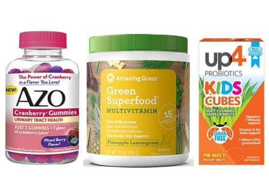 Huge Discounts on Vitamins **Today Only**