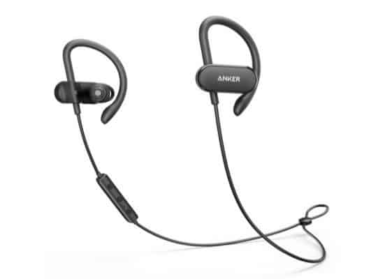 Anker SoundBuds Curve Bluetooth Headphones $18.99 **Today Only**